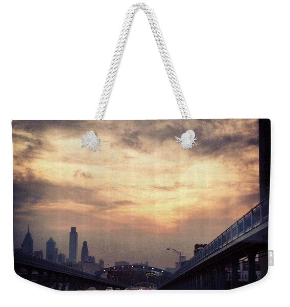 Philly Weekender Tote Bag