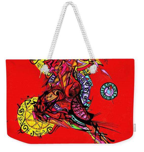 Phoenix Woman  Weekender Tote Bag