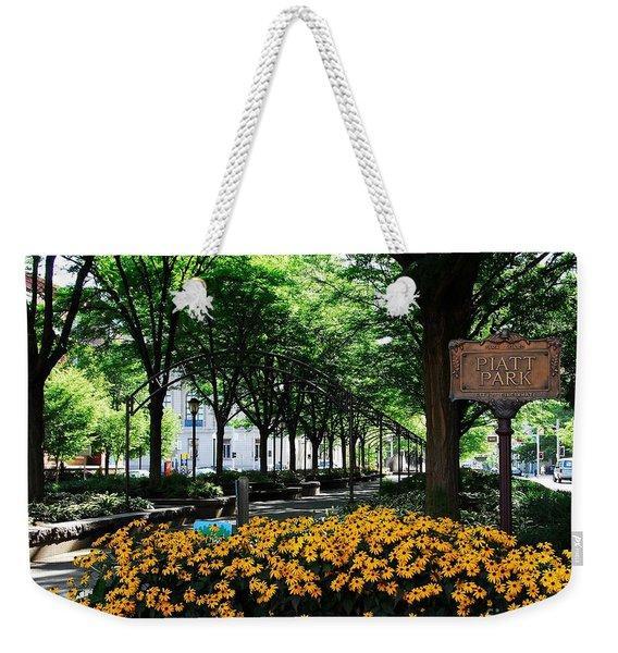 Piatt Park 1 Weekender Tote Bag
