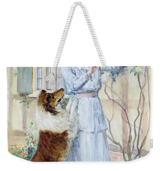 Picking Roses Weekender Tote Bag