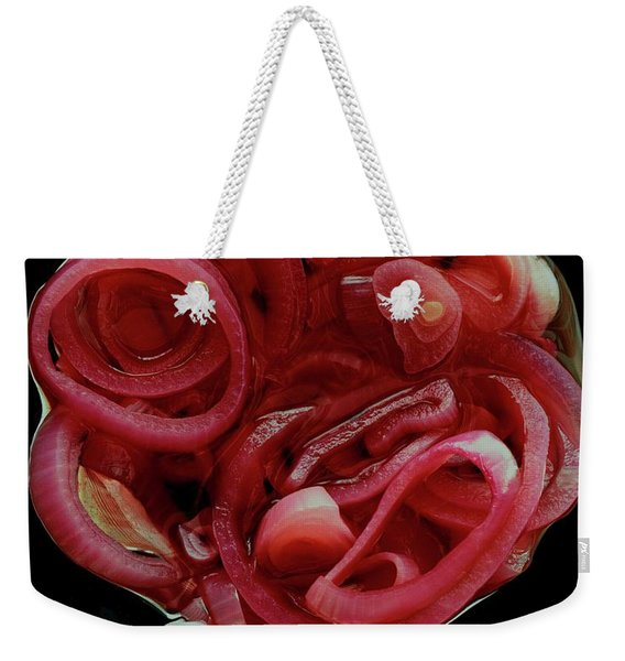 Pickled Red Onions Weekender Tote Bag