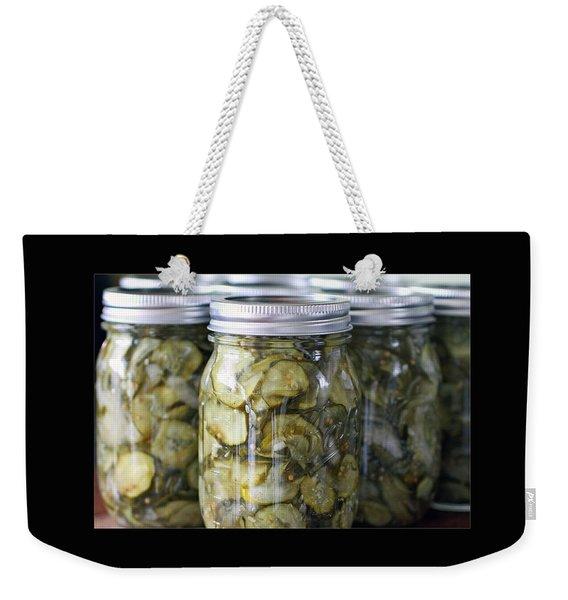 Pickles Weekender Tote Bag