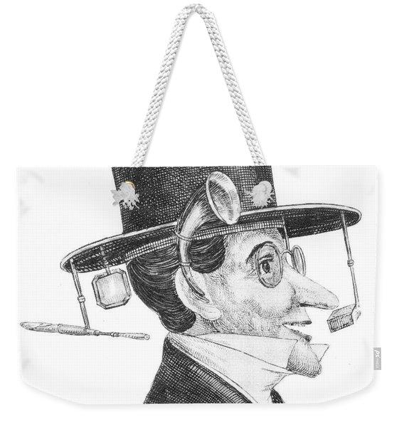 Pickpocket Protection Invention Weekender Tote Bag