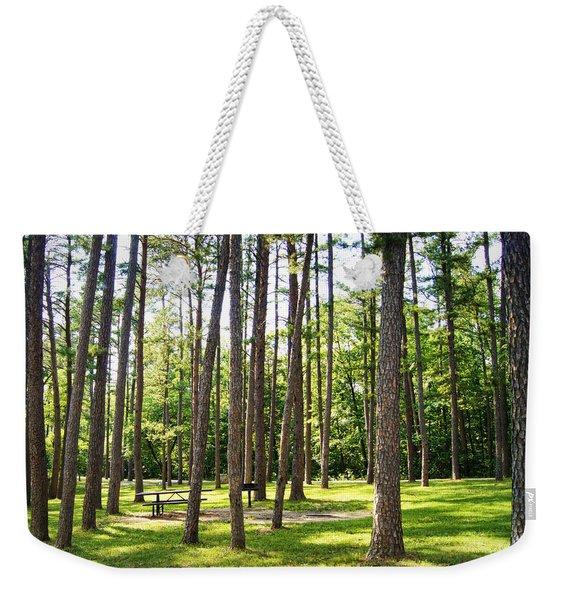 Picnic In The Pines Weekender Tote Bag