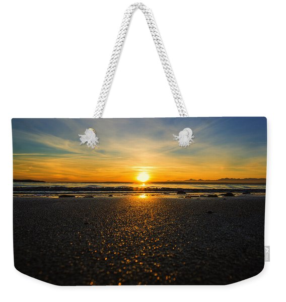 Picnic Point Sand Weekender Tote Bag