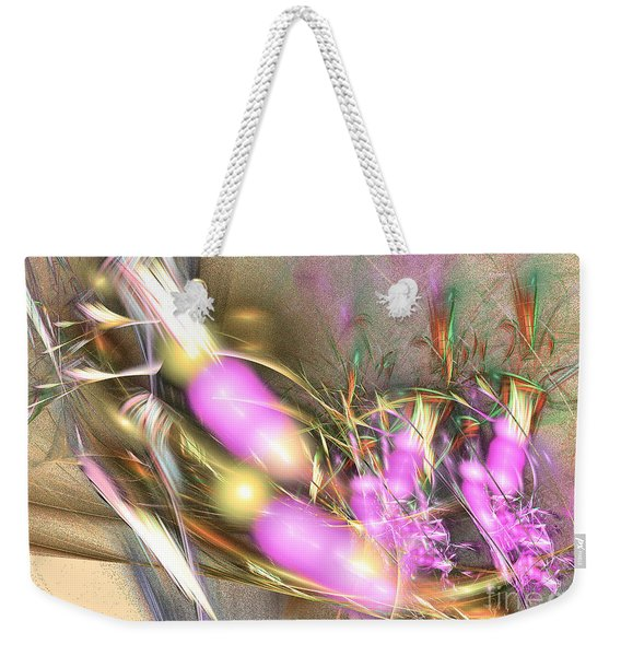 Picnic - Abstract Art Weekender Tote Bag
