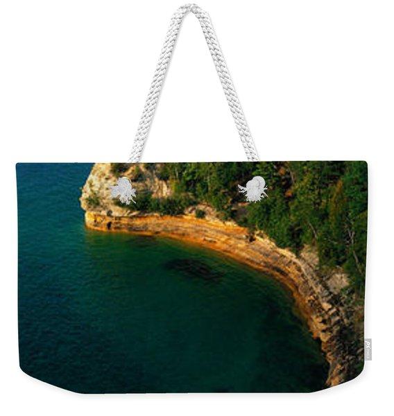 Pictured Rocks National Lake Shore Lake Weekender Tote Bag