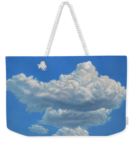Piece Of Sky 3 Weekender Tote Bag