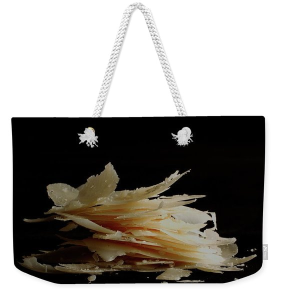 Pieces Of Parmesan Cheese Weekender Tote Bag