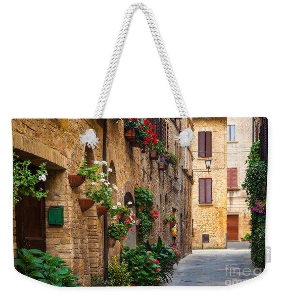 Pienza Street Weekender Tote Bag