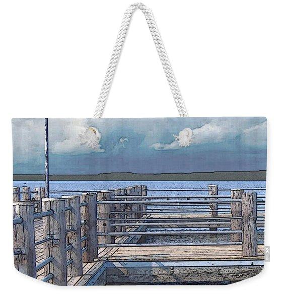 Pier 2 Image C Weekender Tote Bag