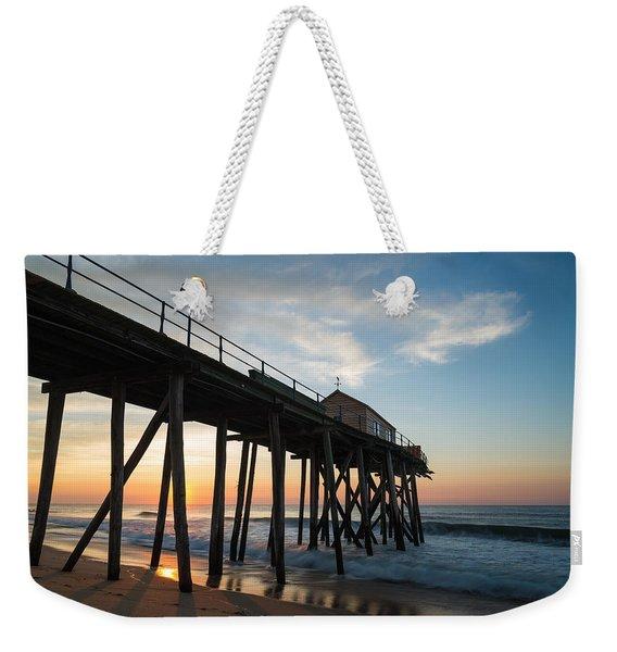 Pier Side Weekender Tote Bag