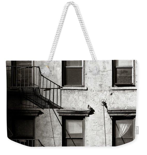 Pigeon Weekender Tote Bag
