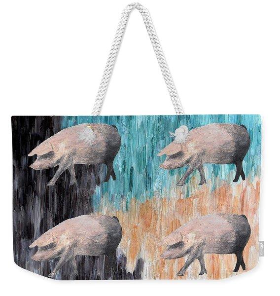 Piggies Weekender Tote Bag