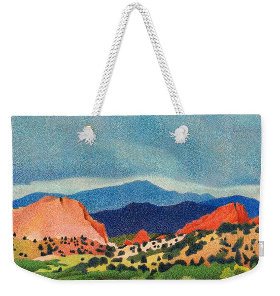 Garden Of The Gods Pikes Peak Weekender Tote Bag