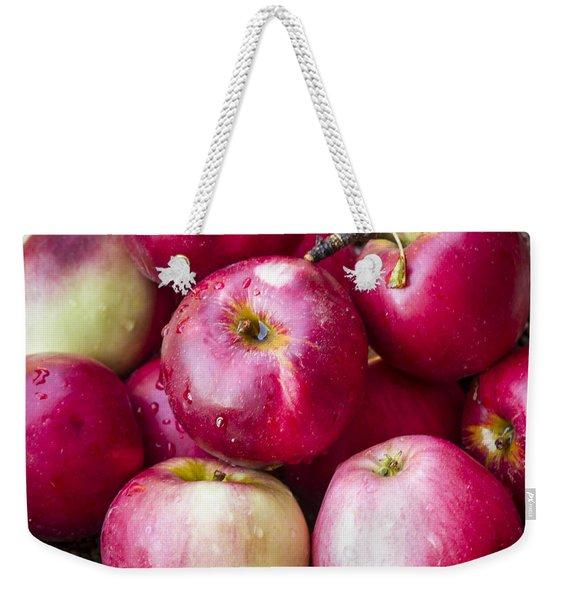 Pile Of Apples Weekender Tote Bag