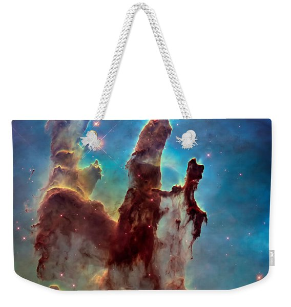 Pillars Of Creation In High Definition Cropped Weekender Tote Bag