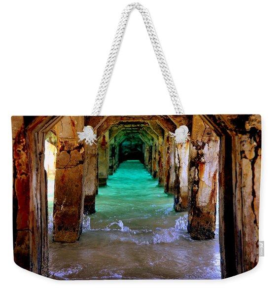 Pillars Of Time Weekender Tote Bag
