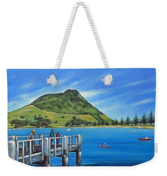 Pilot Bay Mt Maunganui 201214 Weekender Tote Bag