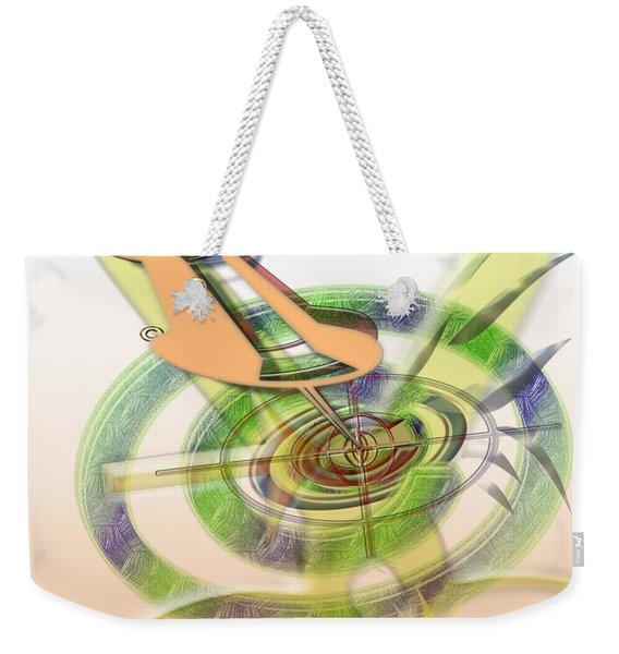 Pin Pointer Weekender Tote Bag