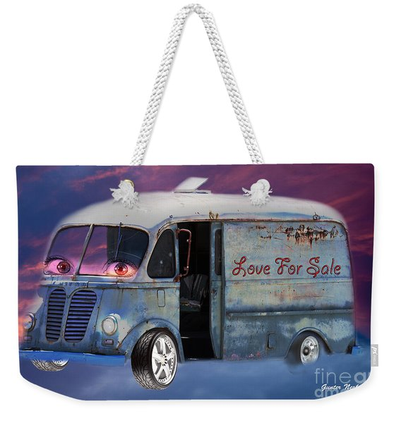 Pin Up Cars - #2 Weekender Tote Bag