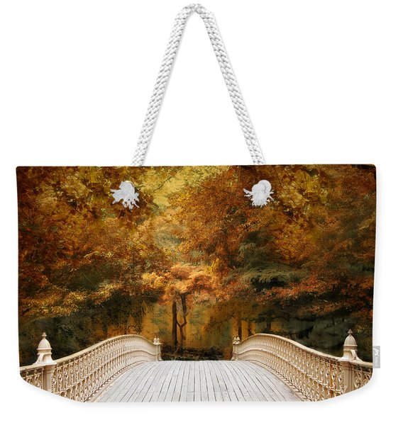 Pine Bank Autumn Weekender Tote Bag