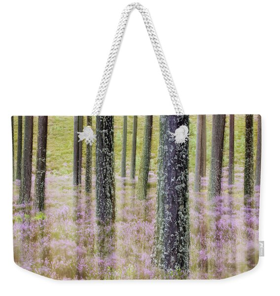 Pine Forest And Heather Cairngorms Np Weekender Tote Bag
