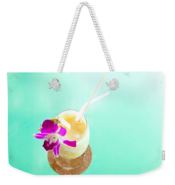 Pineapple Smoothie Weekender Tote Bag