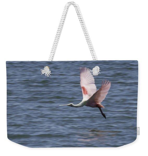 Pink And Blue IIi Weekender Tote Bag