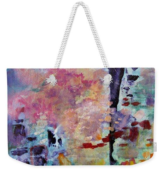 Pink Cloud  Weekender Tote Bag