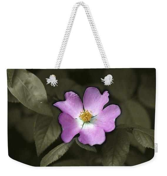 Prairie Rose Weekender Tote Bag