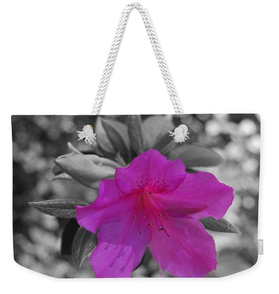 Pink Flower 2 Weekender Tote Bag