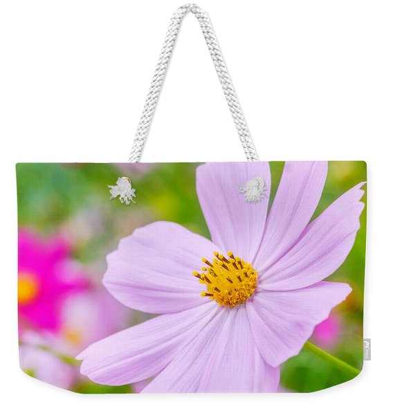 Weekender Tote Bag featuring the photograph Pink Flower  by Garvin Hunter