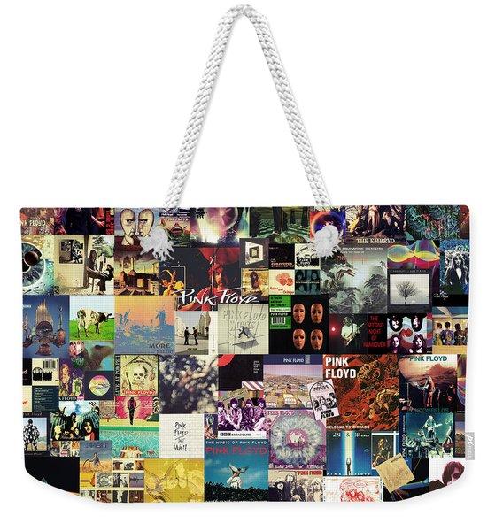 Pink Floyd Collage I Weekender Tote Bag