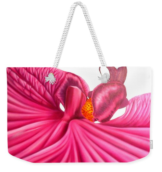 Pink Lady Weekender Tote Bag
