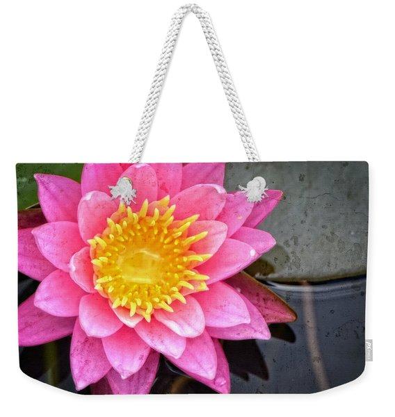 Pink Lotus Flower - Zen Art By Sharon Cummings Weekender Tote Bag