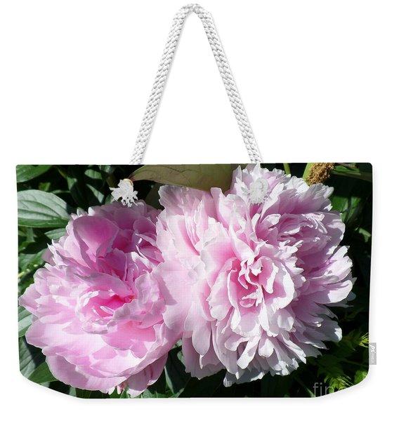 Pink Peonies 3 Weekender Tote Bag