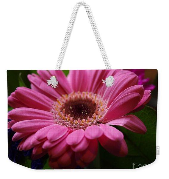 Pink Petal Explosion Weekender Tote Bag