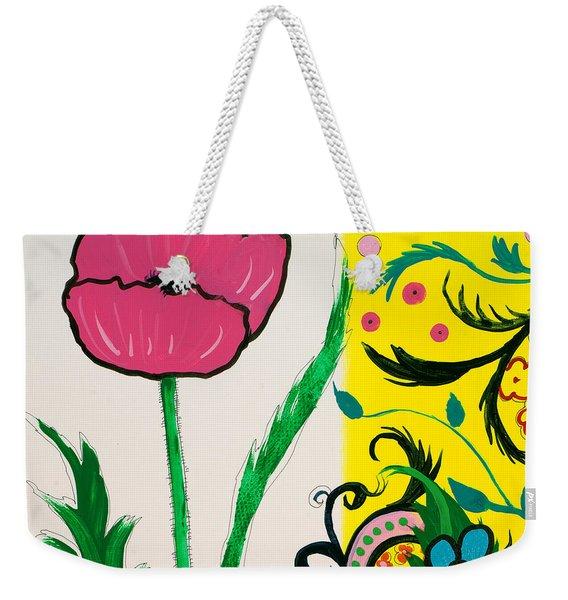 Pink Poppy And Designs Weekender Tote Bag