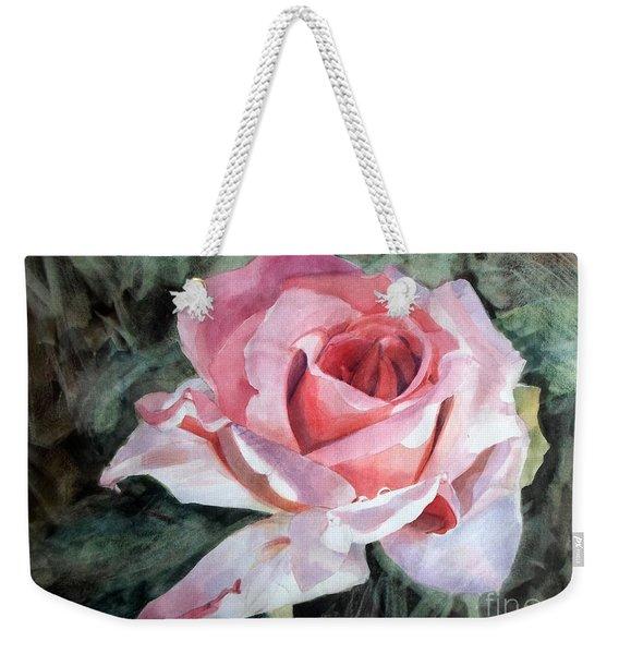 Pink Rose Greg Weekender Tote Bag