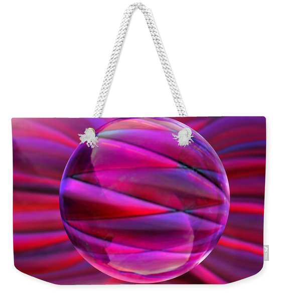 Pinking Sphere Weekender Tote Bag