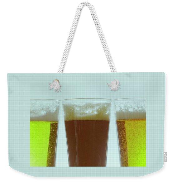 Pints Of Beer Weekender Tote Bag