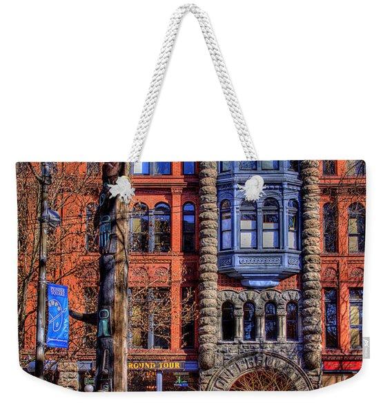 Pioneer Square No.1 Weekender Tote Bag