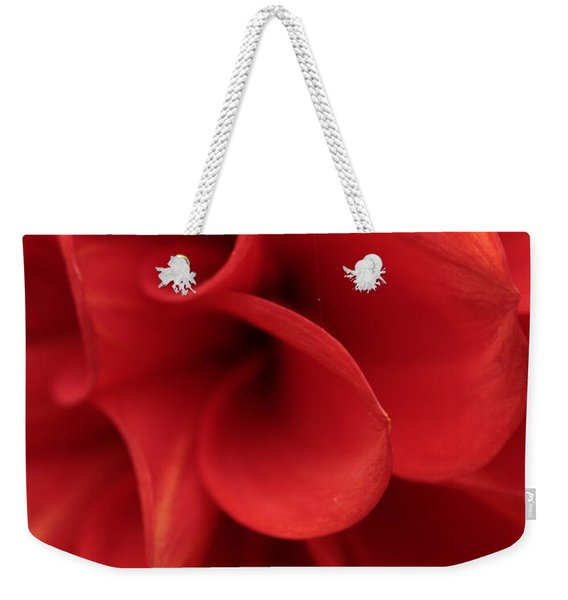 Scarlet Pipes Weekender Tote Bag
