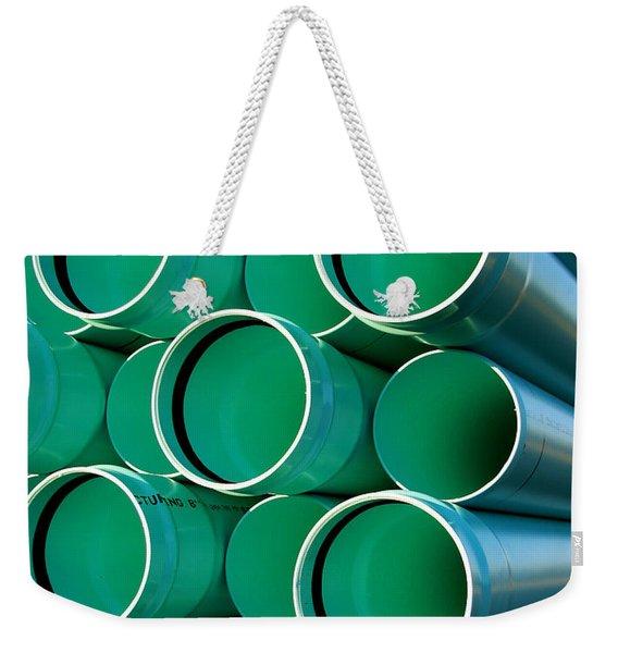 Pipes  Weekender Tote Bag