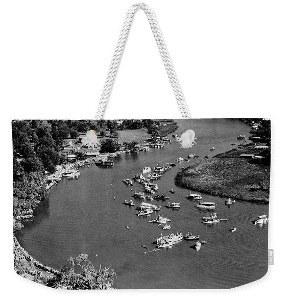 Pirogue Paddling Contest Weekender Tote Bag