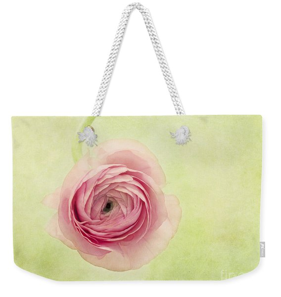 Pistache And Pink Weekender Tote Bag