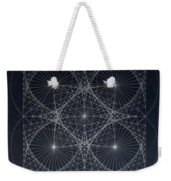 Plancks Blackhole Weekender Tote Bag