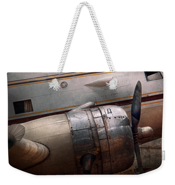 Plane - A Little Rough Around The Edges Weekender Tote Bag