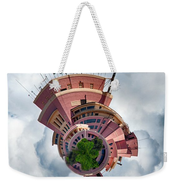 Planet Tripler Weekender Tote Bag